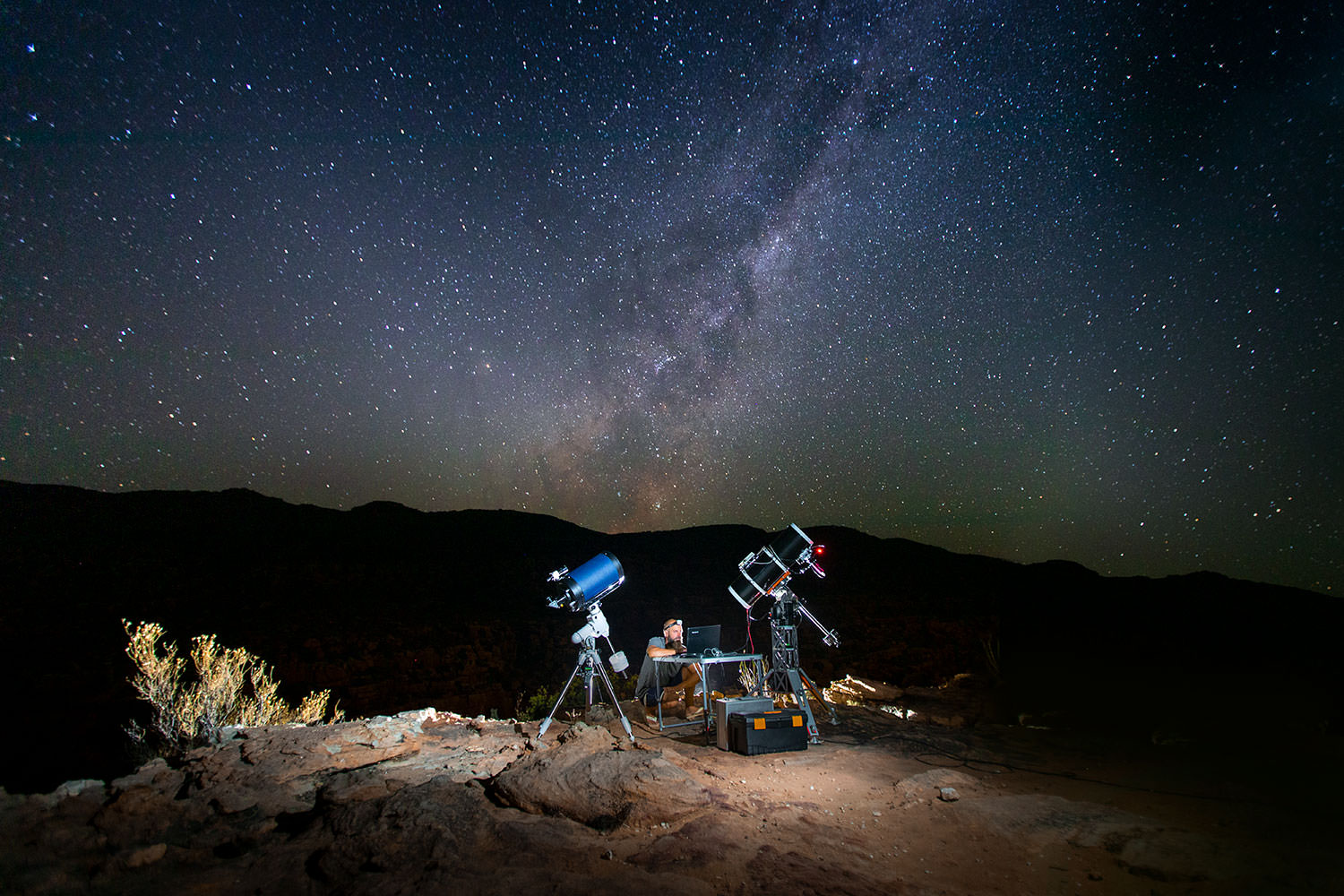 Astronomy At Bliss And Stars